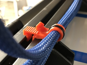 'Dragon' Wire Clip for 1515 Extrusion (80/20) // 3 Sizes