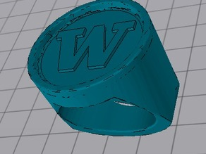 """""""W"""" Ring"""