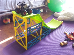 chute for car, for kids