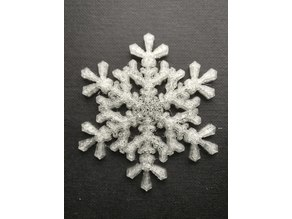 Snowflake from nature