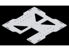 Anet A8 Specific Y-Axis Carriage Plate Upgrade