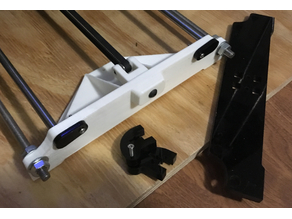Anet A8 Belt Tensioner and Brace Y-Axis