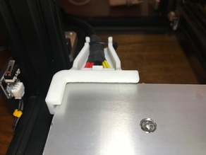CR-10 MINI Bed Connector Strain Relief with Corner Clips