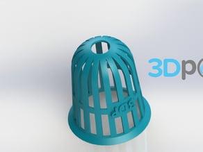 Planter (Round) - 3Dponics Non-Circulating Hydroponics
