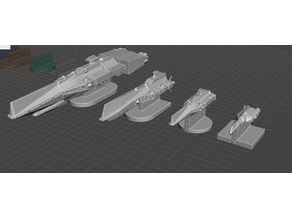 ROBOTECH Inherit the Stars United Earth Government ASC Fleet RRT Strategy GAME PIECES