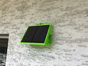 SOLAR POWERED WIFI WEATHER STATION