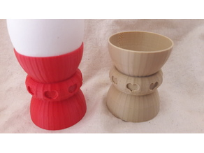 "egg cup, egg holder ""Love"""