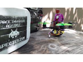 Helifar X140 Pro - Runcam Split Mini - top mount