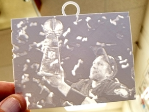 Nick Foles Super Bowl Lithophane