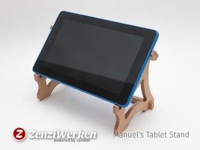 Manuel Laptop Stand cnc/laser