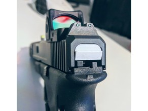 Glock Armorer's Slide Back Plate