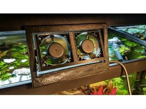 Double cooler for your aquarium