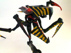 poseable Warrior-Bug