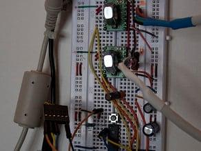step/dir firmware for the polargraph kritzlerbot