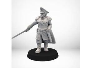 Captain Human guard