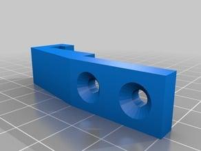 Replicator/CTC Plexiglas door holder