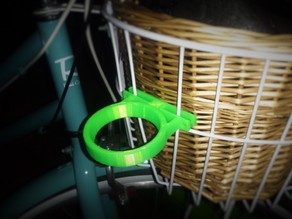 Coffee Cup Holder Bike Basket Attachment