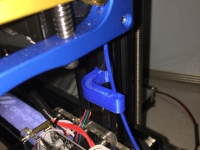 Tarantula filament guide 2020 extrusion