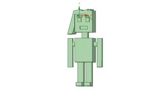 Simple square figure