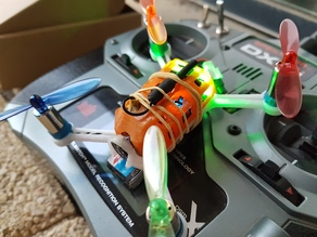 95mm micro quad brushed 8520 châssis drone