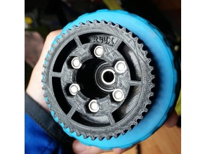 Pulley HTD5M - 47T (47 Teeth) for Electric Longboard