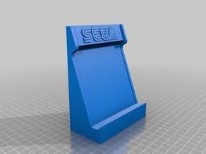 Cabinet Arcade for smartphones with Sega & Nintendo logos