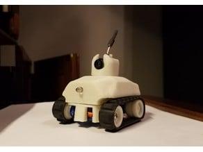 Tiny Servo Driven FPV RC Tank (#TinyTrak)