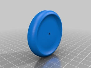 Yo-Yo for use with a 22mm skate bearing