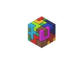 Puzzle Cube (5x5)