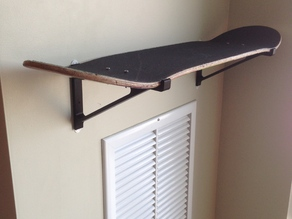 Skateboard Deck Shelf