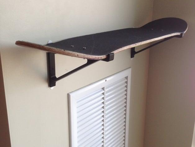 Skateboard Shelf skateboard deck shelfrschaefer147 - thingiverse