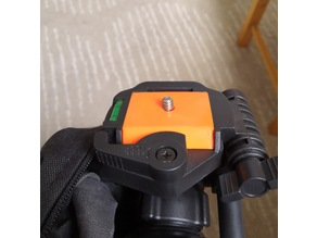 Quick Release Plate for Braun tripod