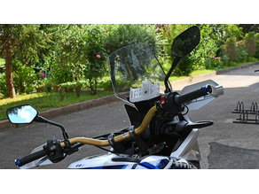 Geotel G1 mount for Honda Africa Twin  CRF1000L 2018