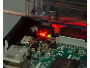 Light Pipe Adapter for Raspberry Pi 3 Model B