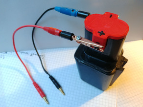 SIMPLE POWER DRILL CHARGING ADAPTER