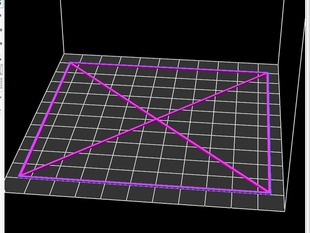 Printrbot LC test pattern 100*100