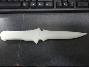 Jack krauser's knife