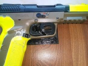 Airsoft 5-seven Holster Trigger Lock Mechanism
