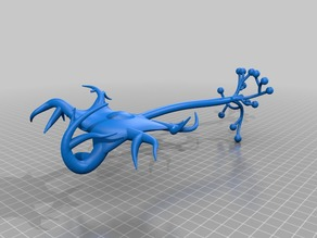 Neuron cell model without sheath
