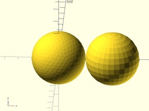 Geodesic Sphere for OpenSCAD
