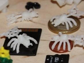 DailyEarring#98:Spider & Web