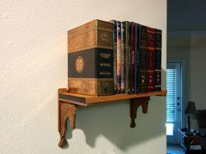 Riders of Rohan inspired shelf bracket