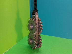 Gears keychain - porte clés engrenages