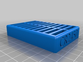 Coin Battery Tray for CR2450 Batteries