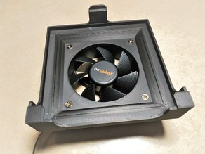 Hepa filter holder for 80mm fan Zortrax M200