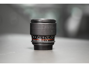 Samyang Cine lens Zoom ring replacement