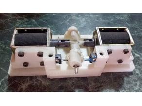 Dual solenoid motor