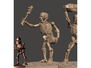 Skeleton Army Undead Giant Miniature