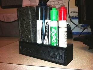 Magnetic Dry Erase Marker and Eraser Holder