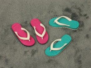 Beach sandal pendant